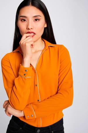 blouse oranje