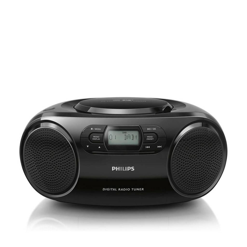 Philips AZB500/12 draagbare radio/CD-speler, Zwart