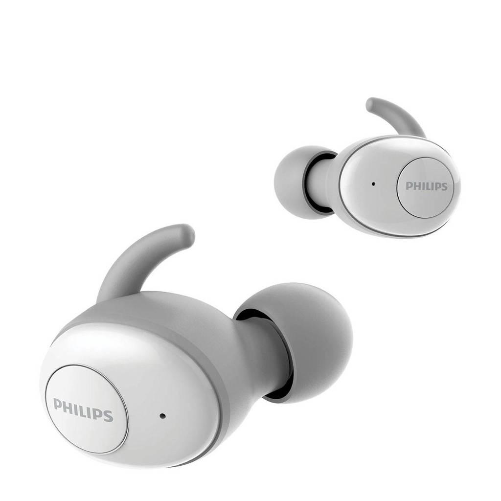 Philips True Wireless SHB2515WT/00 Bluetooth oortjes, Grijs, wit