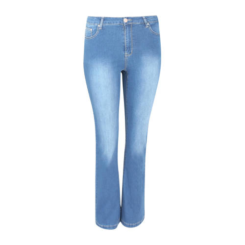 Paprika straight fit jeans blauw