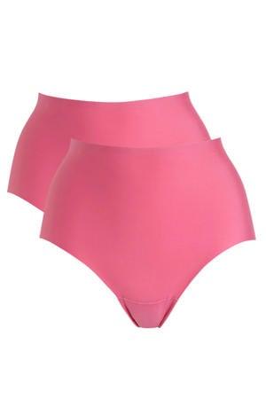 naadloze maxislip (set van 2) roze