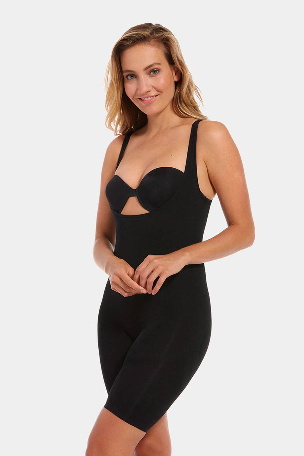 MAGIC Bodyfashion corrigerende bodysuit Seamless zwart, Zwart