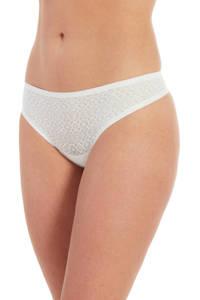 MAGIC Bodyfashion string Dream Lace (set van 2) wit, Wit