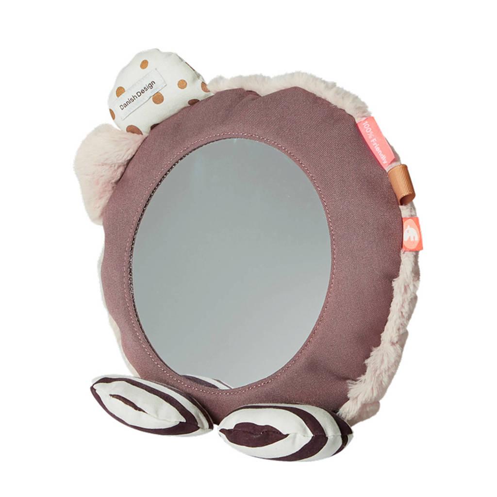 Done by Deer  vloer spiegel roze, Roze