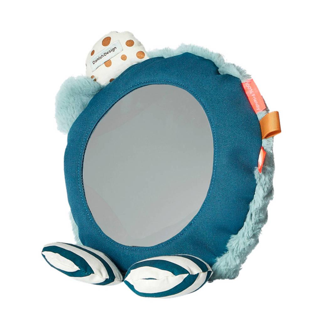 Done by Deer  vloer spiegel blauw, Blauw