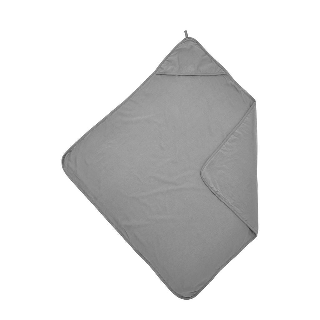 Meyco badcape Basic jersey grijs, Grijs