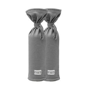 kruikenzak Basic jersey - set van 2 grijs