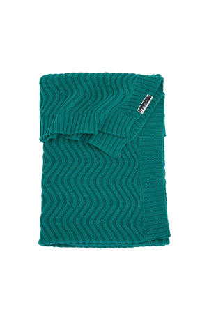 baby ledikantdeken The waves emerald green