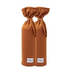 kruikenzak Basic jersey - set van 2 camel