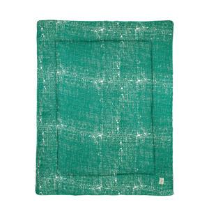 boxkleed Fine lines emerald green