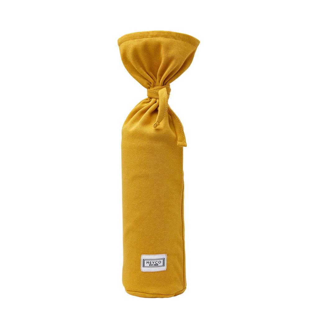 Meyco kruikenzak Basic jersey okergeel, Okergeel