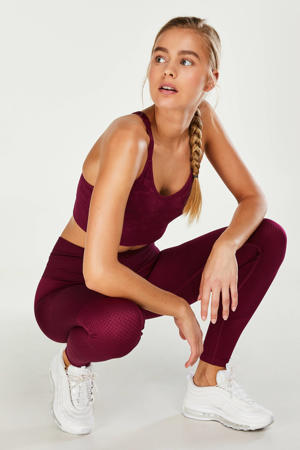 Yoga and pilates collection sportbroek paars