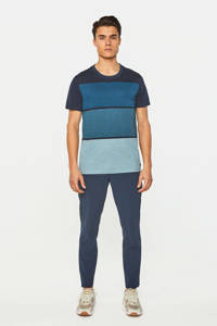 WE Fashion gestreept T-shirt royal navy, Royal Navy