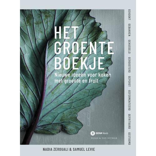 Het groenteboekje - Samuel Levie en Nadia Zerouali