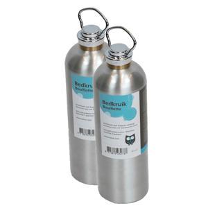 aluminium kruik (2 stuks)