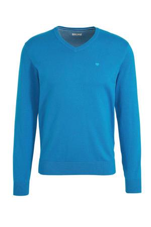 trui met logo blauw