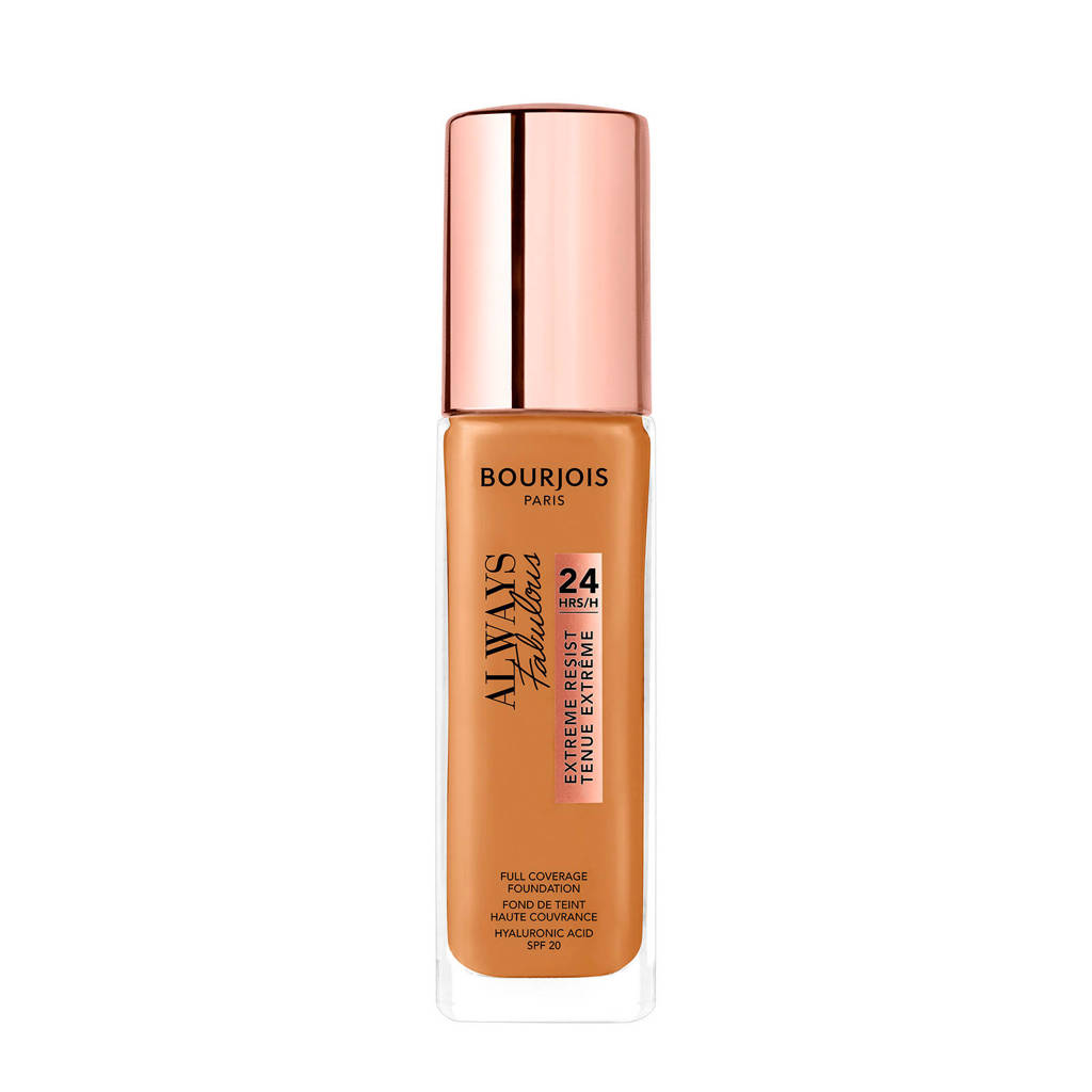 Bourjois Always Fabulous Foundation - 510 Golden Caramel