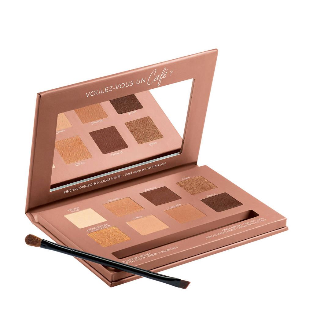 Bourjois Beau Regard Palette - 02 Rue Du Café (Chocolat Nude Edition)