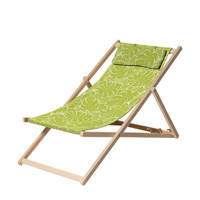 Madison strandstoel Palm Green, Groen
