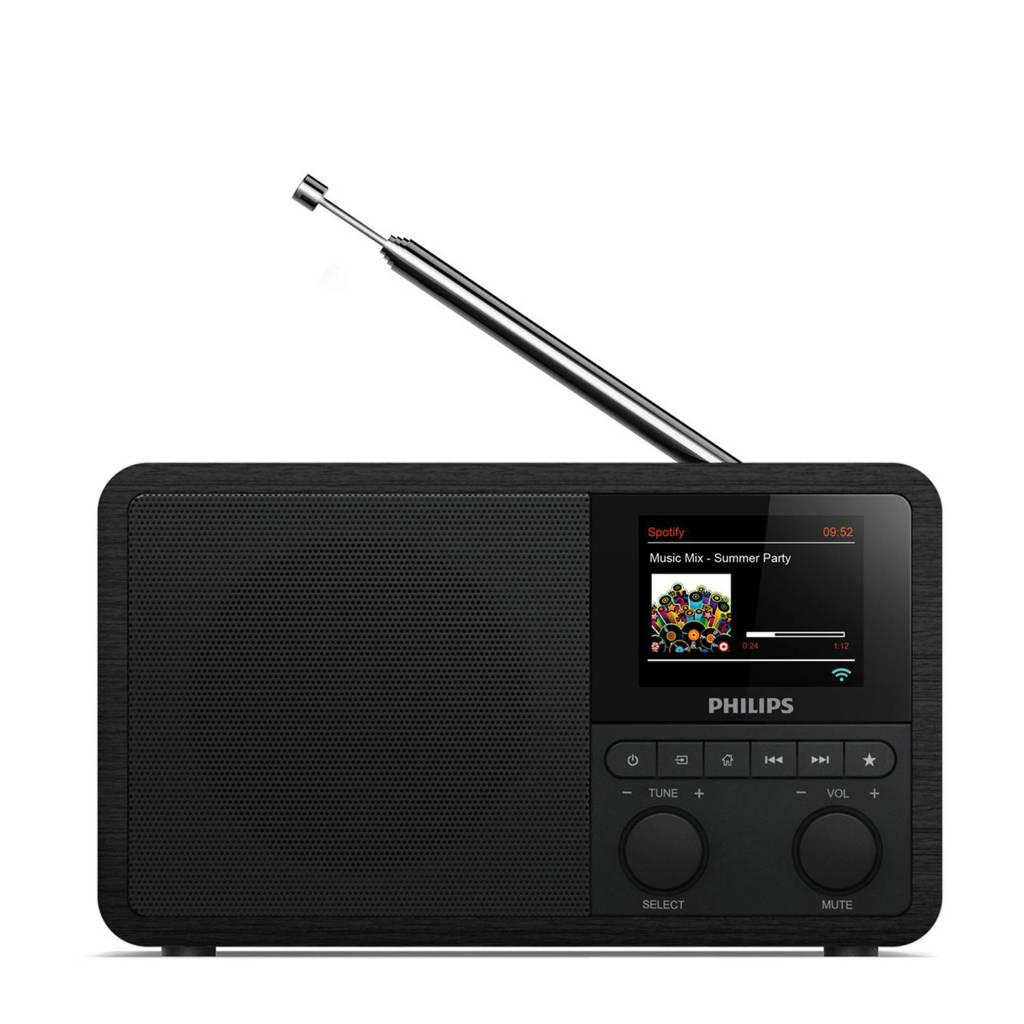 Philips TAPR802/12 DAB radio, Zwart