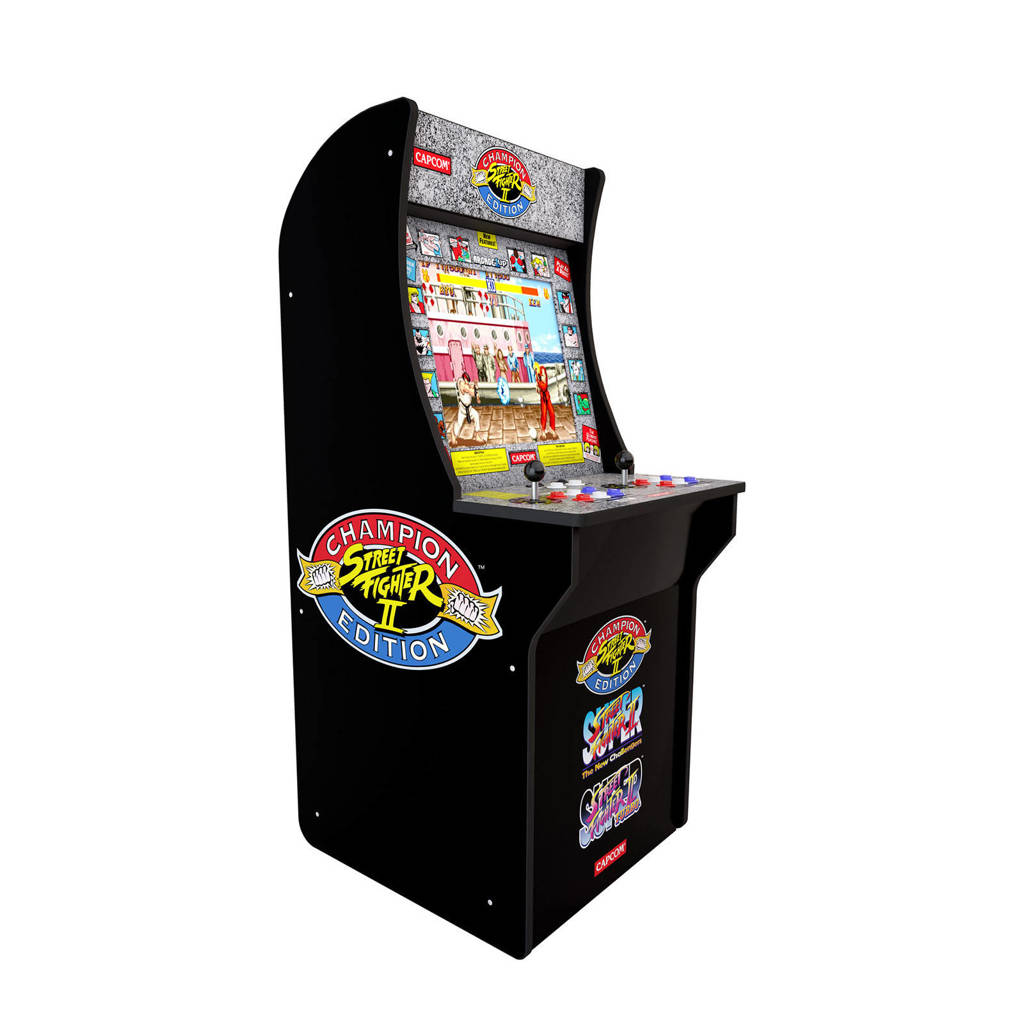 Arcade1Up Arcade Street Fighter, Zwart