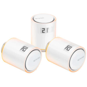Slimme Radiatorknop - Uitbreiding - 3 stuks radiatorknoppen