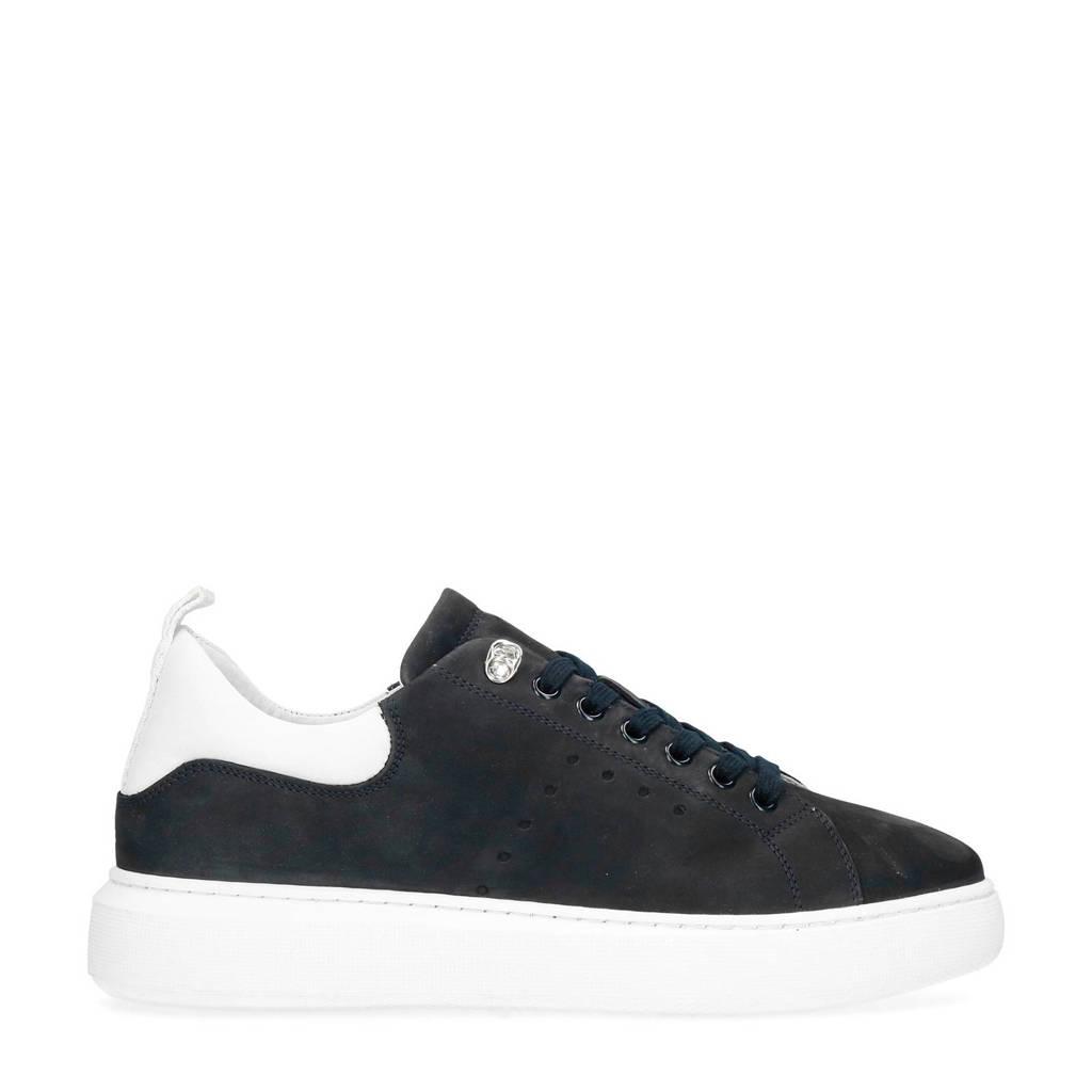 Sacha   nubuck sneakers donkerblauw, Blauw