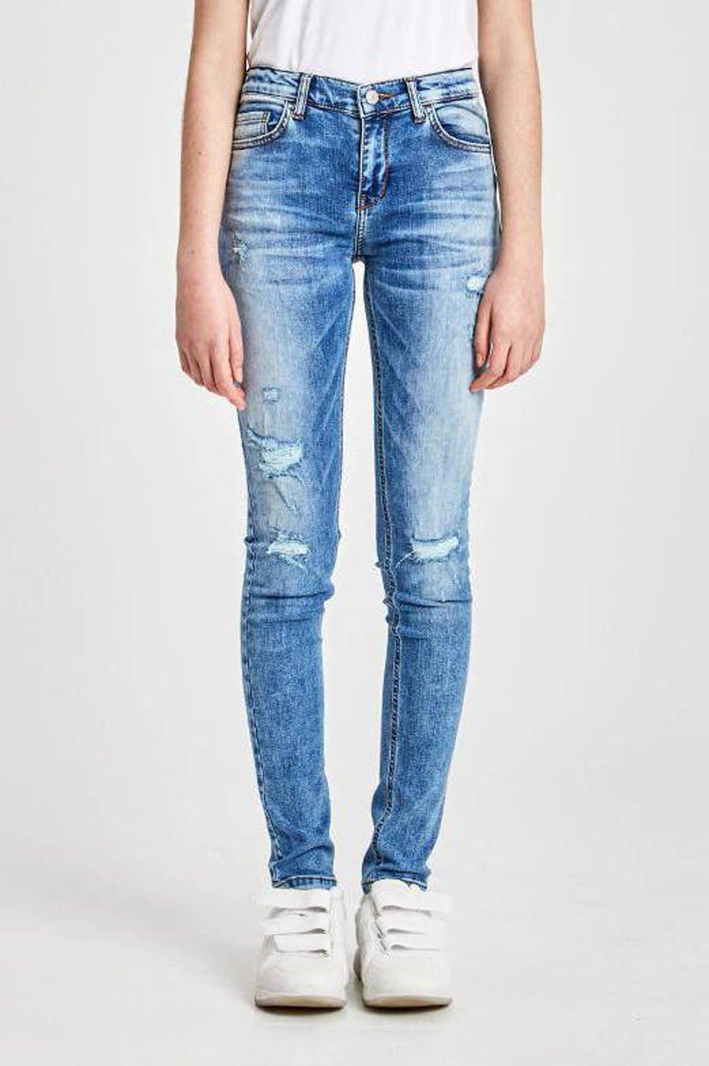 LTB skinny jeans Isabella met slijtage neira wash, Neira wash