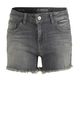 high waist jeans short Pamela luce wash (grijs)