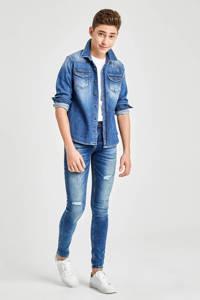 LTB skinny jeans Cayle met slijtage payne wash, Payne Wash