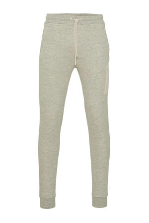 regular fit joggingbroek ecru