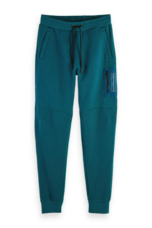 regular fit joggingbroek blauw