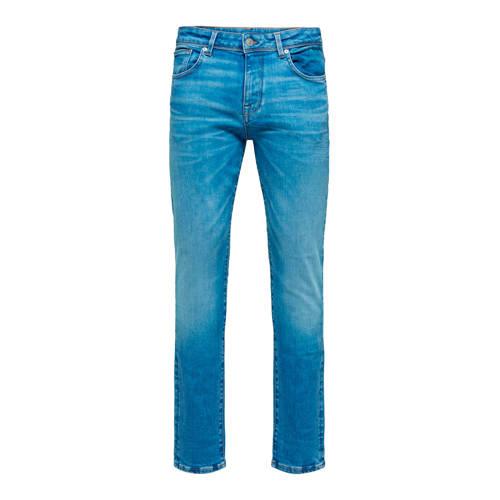 SELECTED HOMME slim fit jeans light blue denim