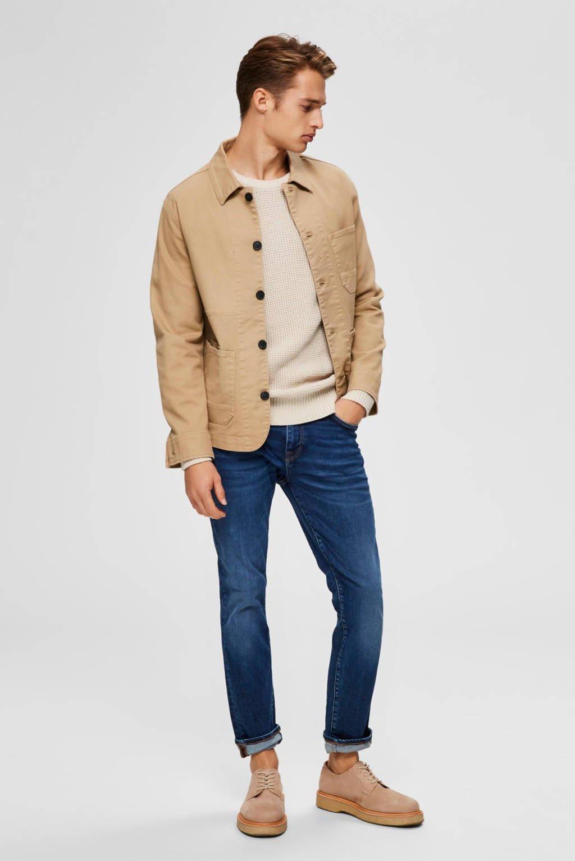 SELECTED HOMME slim fit jeans medium blue denim, Medium blue denim