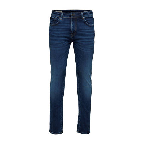 SELECTED HOMME slim fit jeans medium blue denim