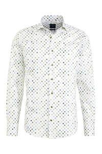Profuomo slim fit overhemd met all over print multi, Multi