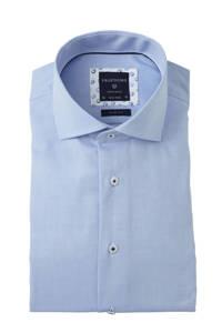 Profuomo slim fit overhemd blauw, Blauw