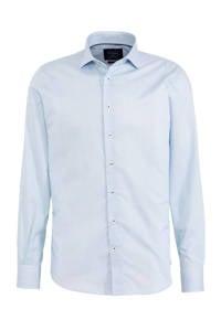 Profuomo slim fit overhemd Cutaway met all over print navy, Navy