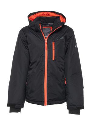 ski-jas zwart/oranje