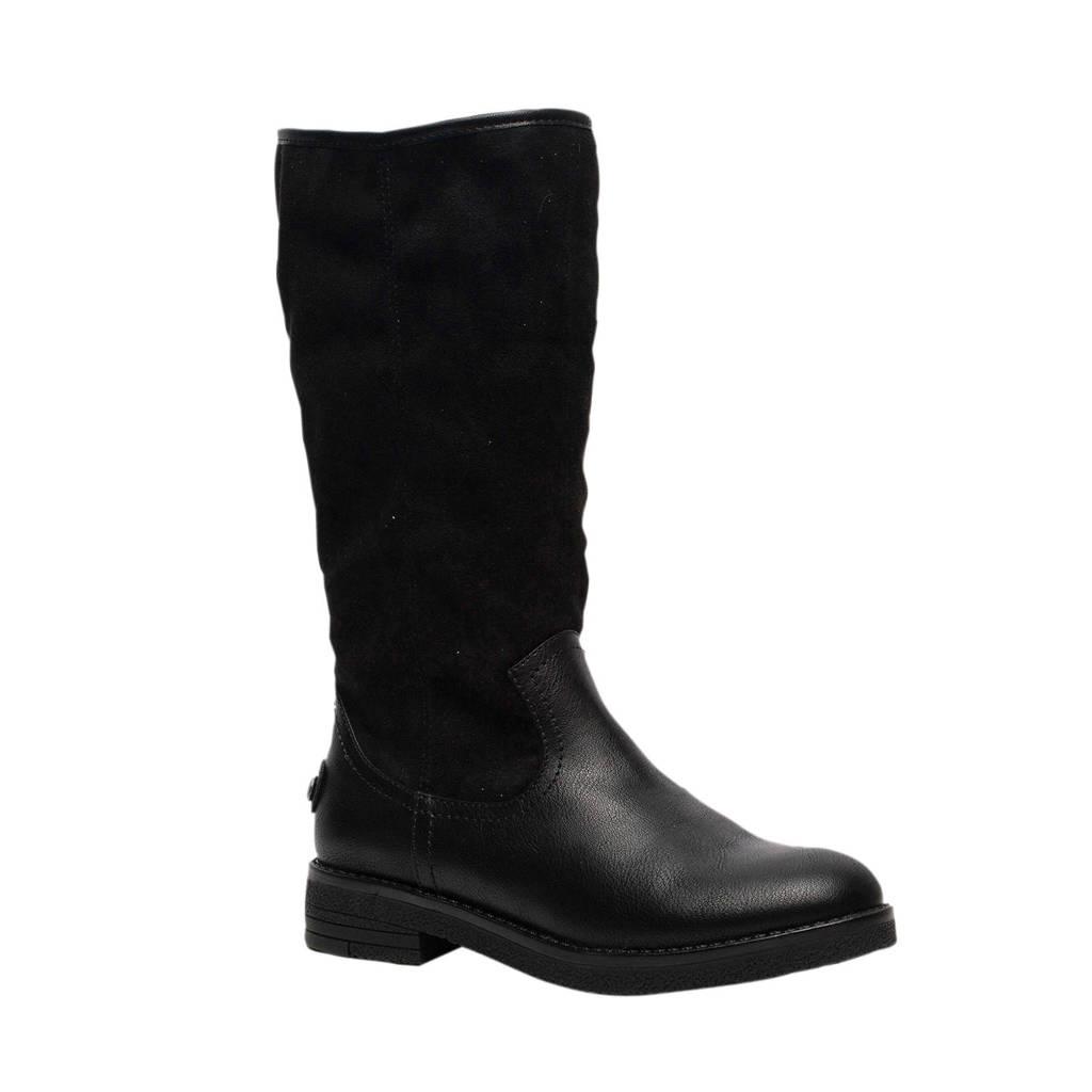 Scapino Blue Box   laarzen zwart, Zwart