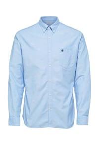 Selected Homme +Fit regular fit overhemd lichtblauw, Lichtblauw