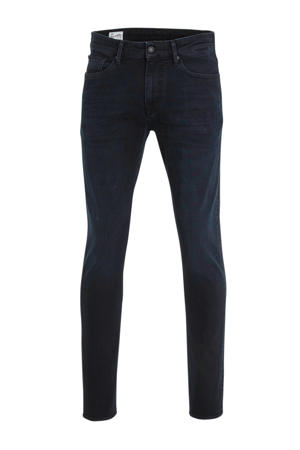 slim fit jeans John blue black worn