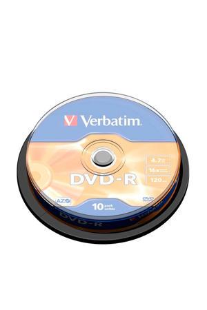DVD-R 4,7GB 16X herschrijfbare DVD's