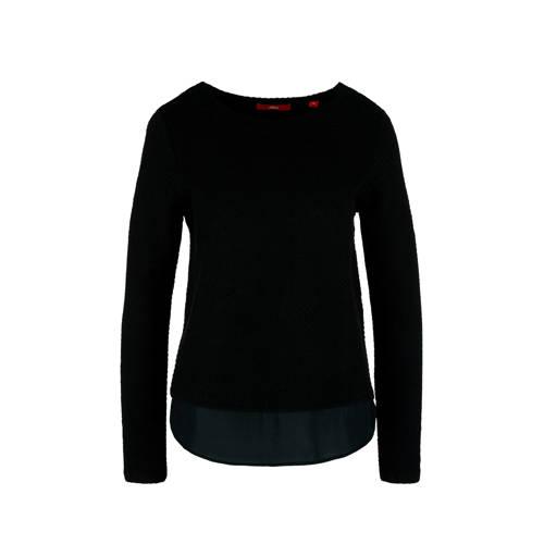 s.Oliver trui zwart