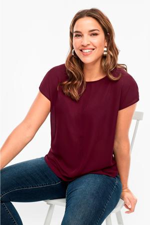 T-shirt paars