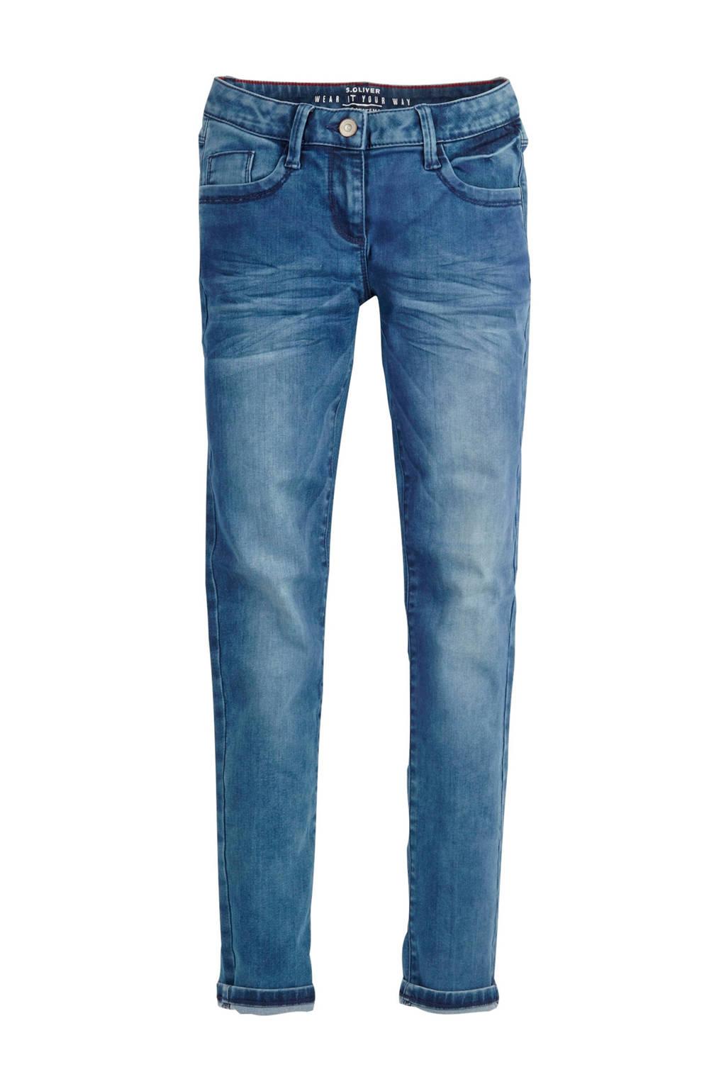 s.Oliver skinny jeans light denim, Light denim