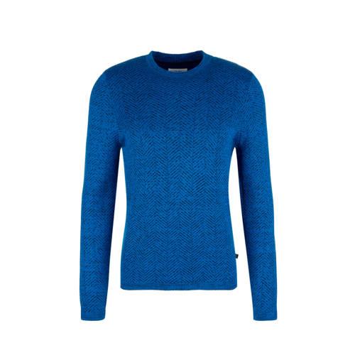 Q/S designed by trui met visgraat blauw