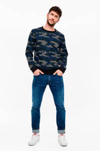 Q/S designed by regular fit jeans petrol, Blauw