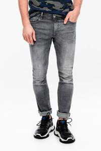Q/S designed by slim fit jeans grijs, Grijs