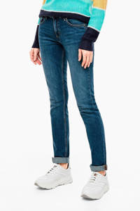 Q/S designed by slim fit jeans blauw, Blauw